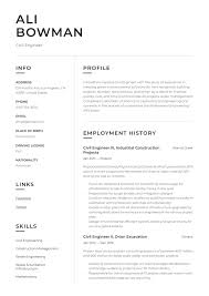 Civil Engineer Resume Sample Writing Guide Resumeviking Com