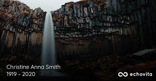 Christine Anna Smith Obituary (1919 - 2020) | Natchez, Mississippi