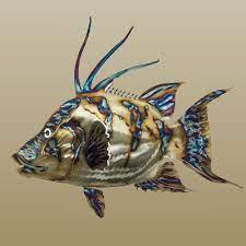 31 fish metal wall art ideas metal