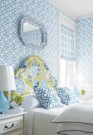 Leopard Print Wallpaper For Bedroom Hot Mural Wallpaper Americano Do Vintage Flor Azul Verde Papel De