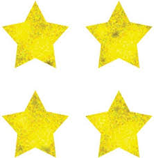 Gold Star Sticker Chart Cd 2166 Sticker Chart Seal Gold Foil Stars 810