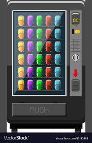 Vending Machine Software Free Download Mesmerizing Vending Machine Fulled Of Soft Drink Royalty Free Vector