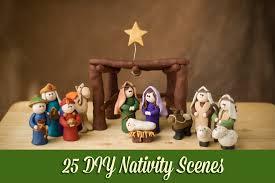25 diy nativity scenes jpg