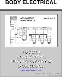 toyota electrical wiring diagram toyota image body electrical toyota electrical wiring diagram workbook on toyota electrical wiring diagram