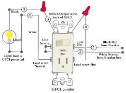 combination switch wiring diagram gfi schematic wiring diagram \u2022 Switched GFCI Outlet Wiring Diagram combination switch wiring diagram gfi schematic wiring diagram u2022 rh msblog co wiring a gfci plug
