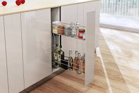 pull out soft close wire basket kitchen storage unit 150 200 mm variant multi