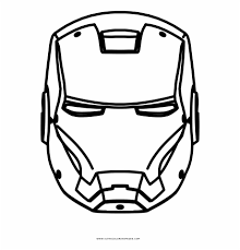 Arno stark is a distant descendant of tony stark who inherited his company, including the iron man armor, and became a mercenary. Iron Man Coloring Page Iron Man Png Hitam Putih Transparent Png Download 2279718 Vippng
