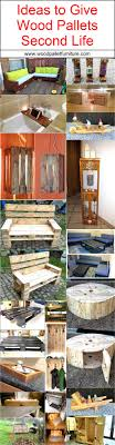 shipping pallet furniture ideas. Ideas-to-give-wood-pallets-second-life. Shipping PalletsPallet FurnitureFurniture Pallet Furniture Ideas