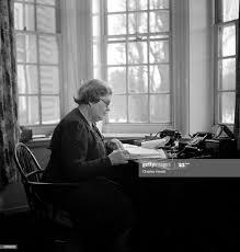 Myra Curtis, Principal of Newnham Women's College, Cambridge and head...  News Photo - Getty Images
