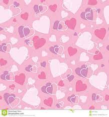 Cute hearts background stock vector ...