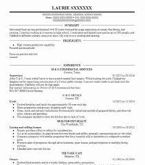 Cook Resume Objective Line Cook Resume Objectives Resume Sample LiveCareer 81