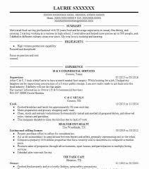 Cook Resume Objective Line Cook Resume Objectives Resume Sample LiveCareer 81