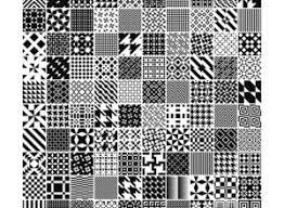 無料で使えるillustrator用シームレスパターンセット82 Co Jin