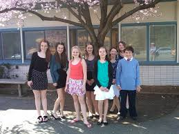 eight students from grover cleveland middle caldwell pared in the es county mittee