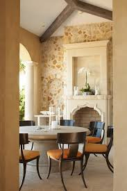 jacksonville cast stone fireplace with traditional artificial flowers patio tropical and chair floor