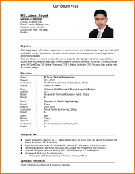 Resume In English Examples Resume In English Examples Complete Guide Example 4