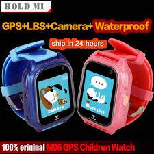 M06 Smart GPS Child Watch Waterproof IP67 Phone Positioning Tracker 1.44 inch Color Touch Screen SOS Q750 Baby