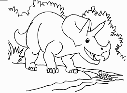 Small Picture Triceratops Coloring Page zimeonme
