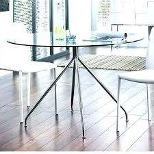 round glass dining table ikea small room solid oak fabulous metal