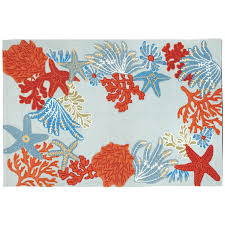 Home Design : Ocean Themed Area Rugs - Textiles And Ideas ...