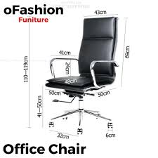 large image for standard office desk height uk mm stylish design for chair dimensions computer sleek