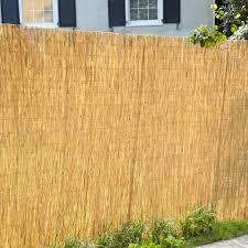 bamboo garden fencing