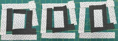 Quilt With Words: Make a Personalized Text Quilt & piecing steps for letter Q Adamdwight.com