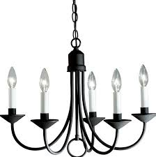 chandelier candle covers black