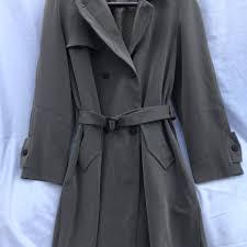 Utex Design Long Coat Ud Utex Design Vintage Trench Coat Size Large Depop