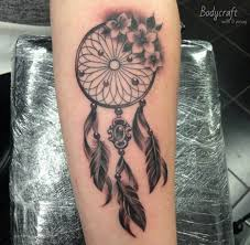 Pictures Of Dream Catchers Tattoos Unique 32 Gorgeous Dreamcatcher Tattoos Done Right TattooBlend