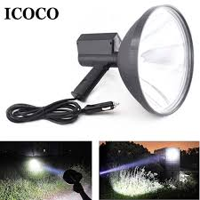 Hunting Lights For Sale Us 71 38 Icoco 9 Inch Portable Handheld Hid Xenon Lamp 1000w 245mm Outdoor Camping Hunting Fishing Spot Light Spotlight Brightness Sale In Xenon