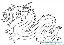 Coloring Dragon Coloring Pages Colouring Sheet Page Sheets Chinese