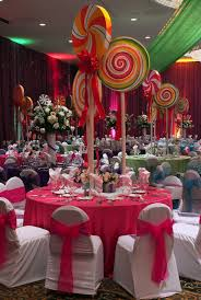 Candy Decorations Spindle Top Gala With Imagine That Houston Candy Land Theme