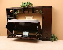 Hidden Desk Bed Need a bed and a work surface, too \u2013 but don\u0027t ...