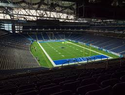 Ford Field Lions Seating Chart Ford Field Section 315 Seat Views Seatgeek