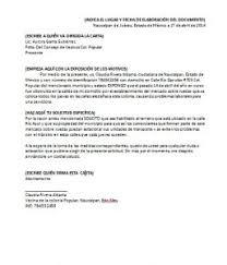 Formato De Carta De Solicitud Carta De Solicitud Formatos Y Ejemplos Word Para Imprimir