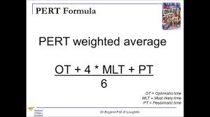 Pert Chart Formula Problem Solving Techniques 16 Pert Analysis