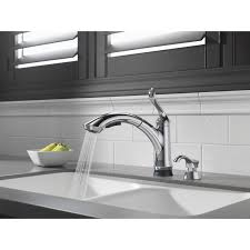 Delta Kitchen Faucets Canada Kitchen Black Kitchen Faucet With Sprayer With Crespo Flex