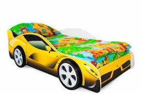 Купить Детская <b>кровать</b>-<b>машина Бельмарко</b> «<b>Феррари</b>» от ...