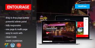 Wordpress Movie Theme Entourage Movie Film Cinema Tv Wordpress Theme