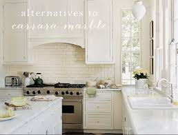 Small Picture The Great Kitchen Counter Debate Alternatives to Carrara Marble