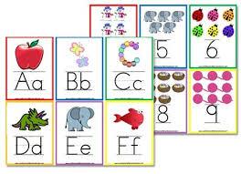 Preschool Wall Charts More Free Alphabet Flashcards Wall Posters Alphabet