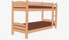 Bunk bed Bed making Clip art Cartoon Bed Cliparts png download