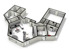 cool floor plans. Pentagonal House Plans - And Home Design Cool Floor