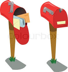 full mailbox. Empty And Full Mailboxes, Vector Mailbox