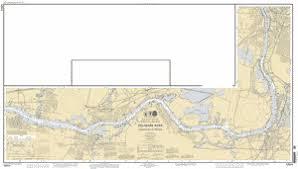 Delaware River Philadelphia To Trenton Main Panel Nautical