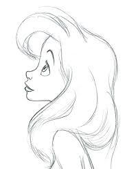 Trilly Disegni Drawings Disney Drawings Mermaid Drawings