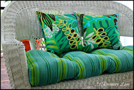 Cushions Patio Bench Cushions Wicker Settee Cushions