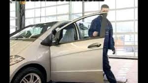 Mercedes Benz B Klasse Dekorfolie Am Fensterrahmen Der Vordertür