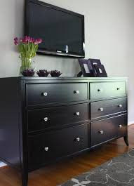I have black furniture, This is what I am going to do to my dresser